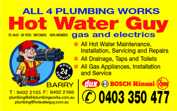 A.A Hot Water Guy